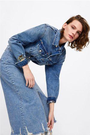 Zara Jupe en jean fendue