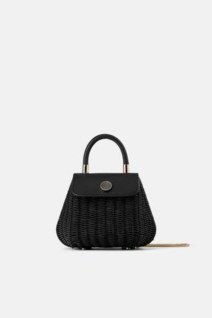 Zara Mini sac en raphia