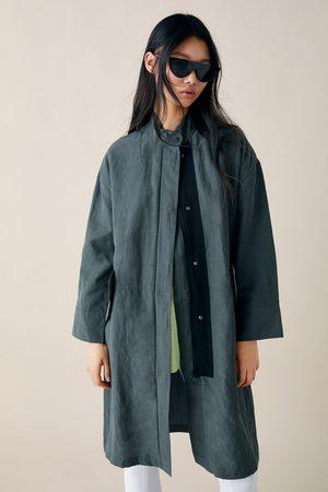 Zara Veste longue avec poches
