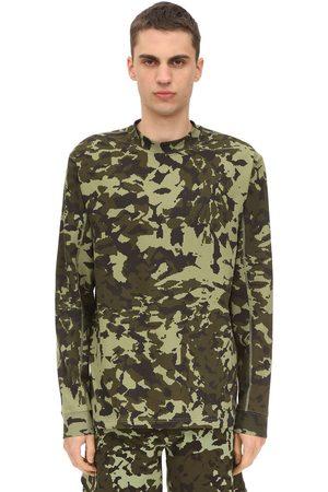"""Nike T-shirt Imprimé Camouflage """"m Nrg Fe Ls Aop"""""""
