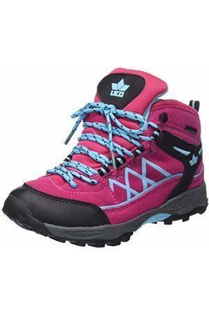 LICO Griffin High Chaussures de Randonnée Hautes Fille, Pink/Schwarz/Türkis, 34 EU