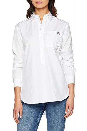 Tommy Hilfiger Monica Shirt LS W4, Chemise Femme, Classique (100), Medium (Taille Fabricant: 8)