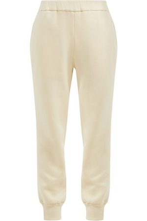 The Row Pantalon de jogging en coton brossé Angeles