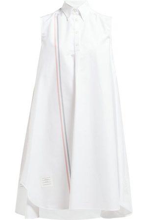 Thom Browne Robe-chemise rayée en sergé de coton