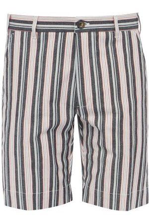 J.W. Brine Homme Shorts - Short en coton mélangé rayé New Chris