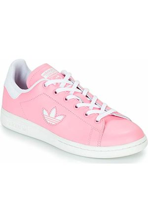 adidas Stan Smith J, Chaussures de Gymnastique Mixte Enfant, Light Pink FTWR White, 36 EU