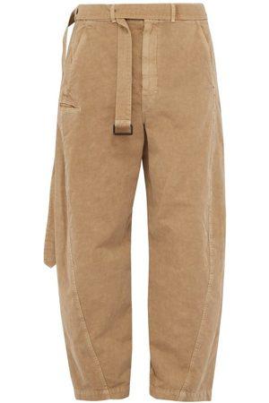 LEMAIRE Pantalon en coton mélangé ample
