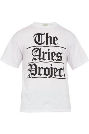 ARIES T-shirt en coton à imprimé Project