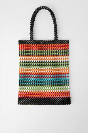 Zara Sac shopper à petites boules colorées