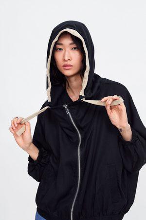 Zara Veste oversize à capuche