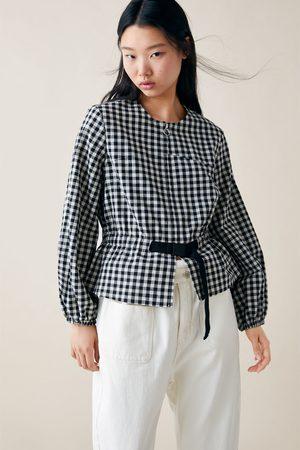 Zara Femme Vestes - Veste à imprimé carreaux