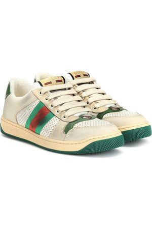 Gucci Baskets Screener en cuir
