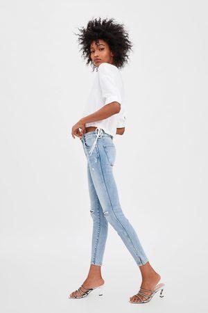 pantalon femme skinny zara