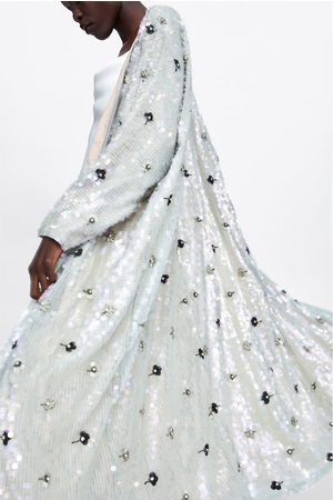 Zara Limited edition bejewelled coat