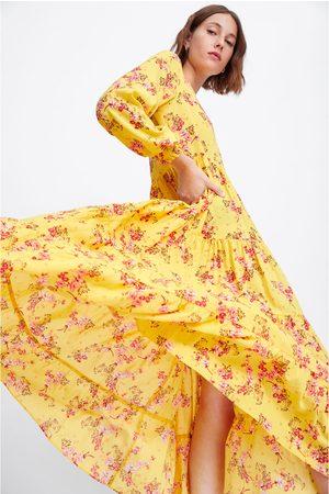 Zara Robe à imprimé fleuri