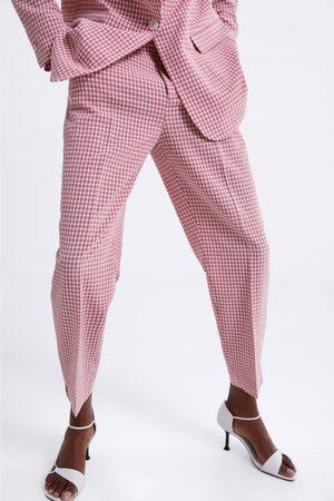 Zara Pantalon à carreaux vichy