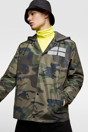 Zara Camouflage coach jacket