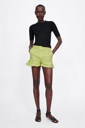 Zara Short imprimé à carreaux