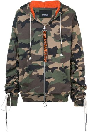 MOSTLY HEARD RARELY SEEN Camouflage zip-up hoodie