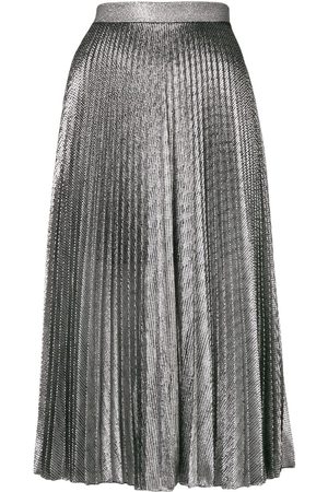 Christopher Kane Jupe mi-longue à effet métallisé