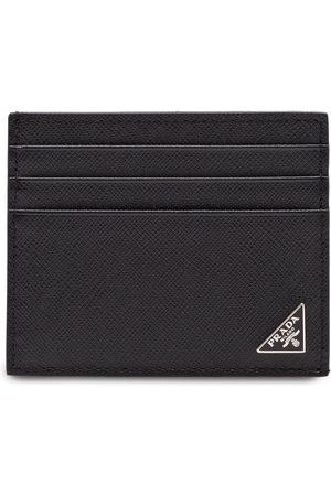Prada Porte-cartes à plaque logo