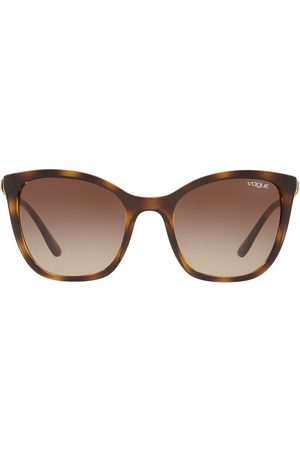 vogue Oversized tinted sunglasses