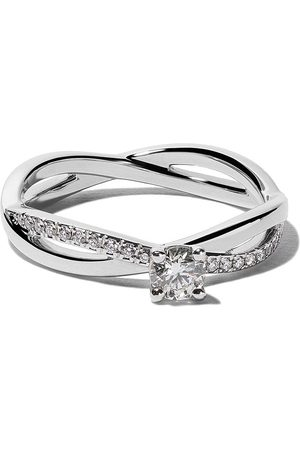De Beers Bague My First Infinity Solitaire en platine et diamants