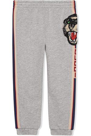 Gucci Pantalon de jogging à logo sur les côtés