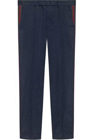 Gucci Pantalon de costume 60s à détails Web
