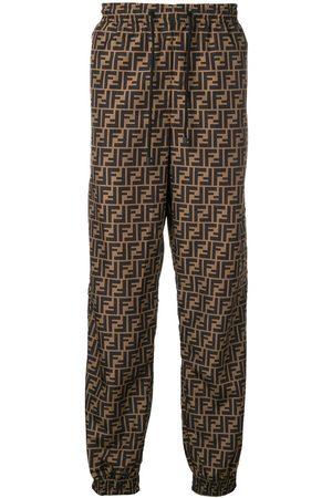 Fendi Pantalon de jogging à motif monogrammé