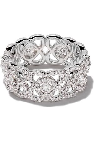 De Beers Bague Enchanted Lotus en or 18ct