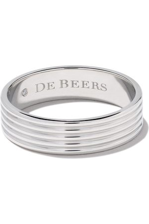 De Beers Bague Fused Lines