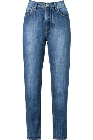 AMAPÔ High waist straight jeans