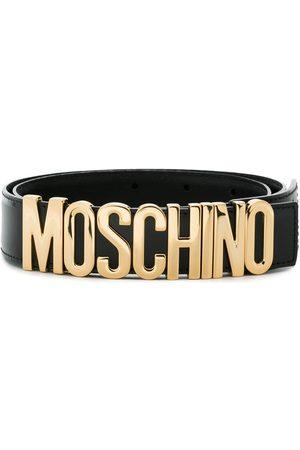 Moschino Ceinture à plaque logo