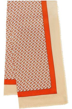Burberry écharpe à motif monogrammé