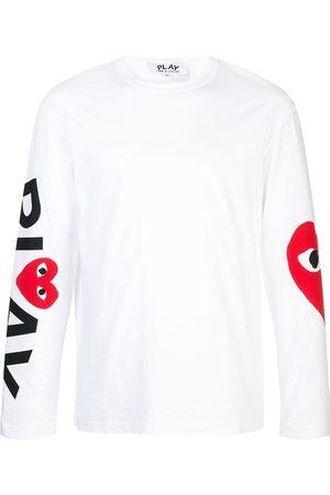 Comme des Garçons T-shirt imprimé à manches longues