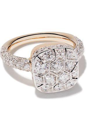 Pomellato Bague Nudo en or rose 18ct sertie de diamants