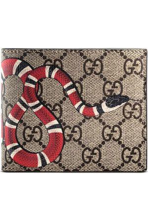 Gucci Portefeuille Suprême GG à imprimé Kingsnake