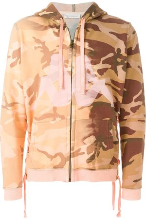 FAITH CONNEXION Sweat zippé Kappa à motif camouflage