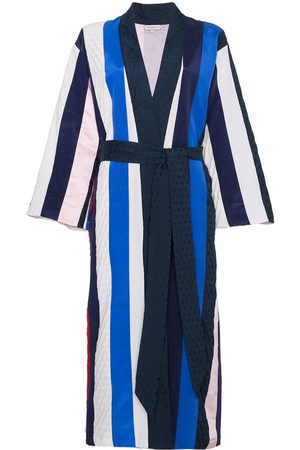 Natasha Zinko Kimono rayé ceinturé