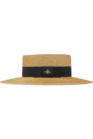 Gucci Chapeau à ruban contrastant