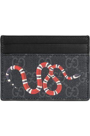 Gucci Porte-cartes à détail de serpent