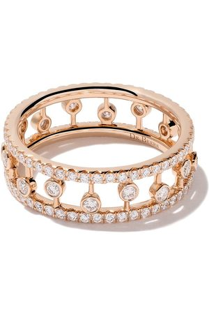 De Beers Bague Dewdrop en or rose 18ct et diamants