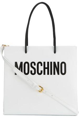 Moschino Sac cabas à logo imprimé