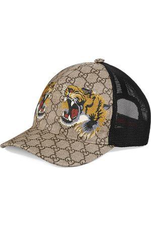 Gucci Casquette GG Supreme à imprimés tigres