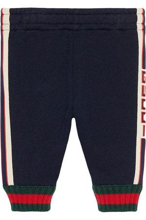 Gucci Pantalon bordé de jacquard