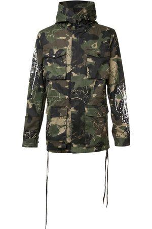 HACULLA Homme Manteaux - Manteau à motif camouflage