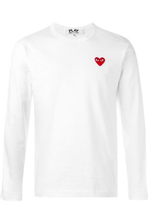 Comme des Garçons T-shirt à patch logo poitrine