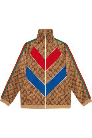 Gucci Veste zippée à imprimé GG