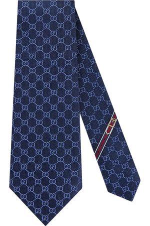 Gucci Cravate à motif Suprême GG